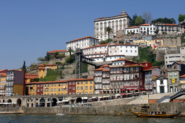 Porto's lovely riverside.